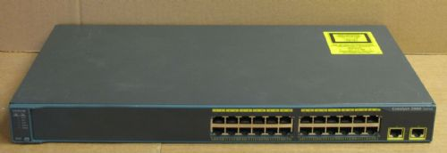 Cisco Catalyst WS-C2960-24TT-L 24-Port L2 10/100 Ethernet Network Managed Switch